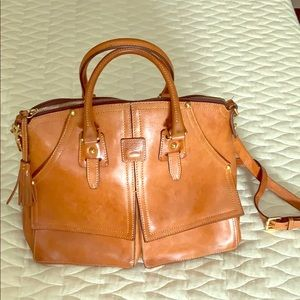 Dooney and Bourke bag.  Crossbody or handles.